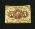 Fractional Currency:First Issue, Fr. 1229 5¢ First Issue About New....