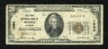 National Bank Notes:Alabama, Mobile, AL - $20 1929 Ty. 1 The First NB Ch. # 1595. ...