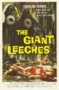 "Movie Posters:Horror, The Giant Leeches (American International, 1959). One Sheet (27"" X41""). ..."