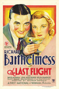 "Movie Posters:Drama, The Last Flight (First National, 1931). One Sheet (27"" X 41"") StyleB...."