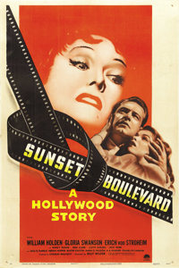 "Sunset Boulevard (Paramount, 1950). One Sheet (27"" X 41"")"