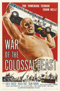 "Movie Posters:Science Fiction, War of the Colossal Beast (American International, 1958). One Sheet(27"" X 41"")...."