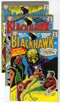Silver Age (1956-1969):Adventure, Blackhawk Group (DC, 1966-67) Condition: Average FN/VF.... (Total: 6)
