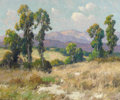 Western:20th Century, MAURICE BRAUN (American, 1877-1941). Eucalyptus. Oil on canvas. 25 x 30 inches (63.5 x 76.2 cm). Signed lower left: Ma...