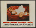 """Movie Posters:Romance, The Prince and the Showgirl (Warner Brothers, 1957). Lobby Cards(2) (11"""" X 14""""). Romance.... (Total: 2 Items)"""