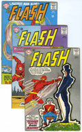 Silver Age (1956-1969):Superhero, The Flash Group (DC, 1965-67) Condition: Average FN/VF.... (Total: 6 Comic Books)