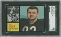 Football Cards:Singles (1960-1969), 1962 Topps Mike Ditka #17 SGC 84 NM 7....