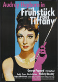 "Movie Posters:Romance, Breakfast At Tiffany's (Paramount, R-1992). German A1 (23.25"" X33""). Romance...."