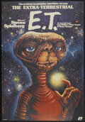 "Movie Posters:Science Fiction, E.T. The Extra-Terrestrial (Universal, 1984). Polish One Sheet (26""X 38""). Science Fiction...."