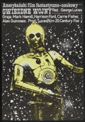 """Movie Posters:Science Fiction, Star Wars (20th Century Fox, 1978). Polish One Sheet (26.5"""" X 38""""). Science Fiction...."""