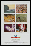 """Movie Posters:Rock and Roll, Woodstock (Warner Brothers, 1970). One Sheet (27"""" X 40.5""""). Rockand Roll...."""