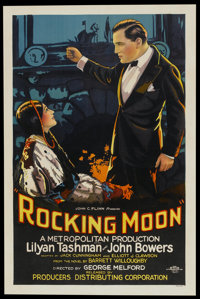 "Rocking Moon (Producers Distributing Corp., 1926). One Sheet (27"" X 40.75"") Style A. Drama"