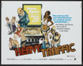 "Movie Posters:Animated, Heavy Traffic (American International, 1973). Half Sheet (22"" X 28""). Animated...."