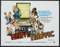 "Heavy Traffic (American International, 1973). Half Sheet (22"" X 28""). Animated"