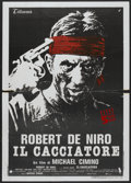 "Movie Posters:Drama, The Deer Hunter (Universal, 1978). Italian 2 - Folio (39"" X 55""). Drama...."