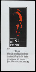"""Movie Posters:Crime, The Godfather (Paramount, 1972). British Three Sheet (39"""" X 79"""").Crime...."""