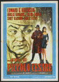 "Movie Posters:Crime, Little Caesar (Warner Brothers, R-1963). Italian 2 - Folio (39"" X55""). Crime...."