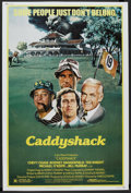 """Movie Posters:Comedy, Caddyshack (Orion, 1980). Poster (40"""" X 60""""). Comedy...."""