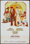 "Movie Posters:Crime, The Sting (Universal, 1974). Poster (40"" X 60""). Crime...."