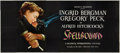 """Movie Posters:Hitchcock, Spellbound (United Artists, 1945). 24 Sheet (104"""" X 232"""").. ..."""