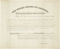 Autographs:Statesmen, Government Appointment for Commissioner to Nez-Perce Indians inIdaho, 1892....