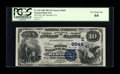National Bank Notes:Pennsylvania, Herndon, PA - $10 1882 Date Back Fr. 545 The First NB Ch. #(E)6049. ...
