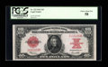 Large Size:Legal Tender Notes, Fr. 123 $10 1923 Legal Tender PCGS Choice About New 58....