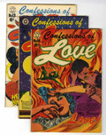 Golden Age (1938-1955):Romance, Confessions of Love #5, 13, and 14 Group (Star Publications, 1953)Condition: Average VG/FN.... (Total: 3 Comic Books)