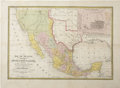 Miscellaneous:Maps, S. Augustus Mitchell, Map of Mexico Including Yucatan &Upper California, Exhibiting the Chief Cities and Towns,Princip...