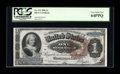 Large Size:Silver Certificates, Fr. 219 $1 1886 Silver Certificate PCGS Very Choice New 64PPQ....