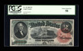 Large Size:Legal Tender Notes, Fr. 42 $2 1869 Legal Tender PCGS Choice About New 58....