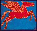 Texas:Early Texas Art - Modernists, PERRY BROOKS NICHOLS (American, b. 1981). Pegasus #7 (HotNeon), 2007. Oil on canvas. 40 x 47-1/4 inches (101.6 x 120.0...