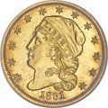 Early Quarter Eagles, 1831 $2 1/2 MS64 NGC....