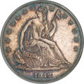Seated Half Dollars, 1842-O 50C Small Date, Small Letters MS62 PCGS. CAC....