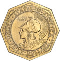 Commemorative Gold, 1915-S $50 Panama-Pacific 50 Dollar Octagonal--ImproperlyCleaned--NCS. AU Details...