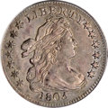 Early Dimes, 1805 10C 4 Berries AU55 PCGS....