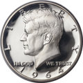 Proof Kennedy Half Dollars, 1964 50C Accented Hair PR68 Deep Cameo PCGS....