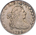 Early Dimes, 1798 10C Large 8 VF25 PCGS....