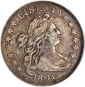 Early Dimes, 1804 10C Improperly Cleaned--NCS. VF Details....