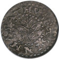 Colonials, 1662 2PENCE Oak Tree Twopence MS62 NGC....