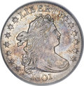 Early Dimes, 1801 10C XF45 PCGS. CAC....