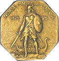 Commemorative Medal, 1925 Medal Norse Gold PR63 NGC. CAC....