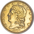 Early Quarter Eagles, 1833 $2 1/2 MS64 NGC....