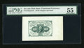 Fractional Currency:First Issue, Fr. 1243SP 10c First Issue Wide Margin PMG About Uncirculated 55....