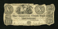 Obsoletes By State:Michigan, Sault De St. Mary, MI- The Chippeway County Bank $10 Jan. 1, 1835 G5, Lee 6. ...