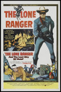 """Movie Posters:Western, Lone Ranger and the Lost City of Gold, The (United Artists, 1958).One Sheet (27"""" X 41""""). """"Hi Yo, Silver, Away!"""" The now fam..."""