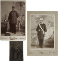 Photography:Cabinet Photos, Three Photographs of Frank J. Russell, Carl P. Russell'sGreat-Grandfather. ...