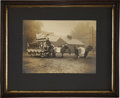 Photography:Official Photos, Spectacular Imperial Size Photograph of Colt Firearms Parade Float, 1903....