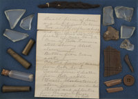 Artifacts from the Dalton Gang Shoot-Out, Coffeyville, Kansas, 1892