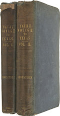 Books, Matilda Charlotte Houstoun. Texas and the Gulf of Mexico;or Yachting in the New World. London: John Murray, 184...(Total: 2 Items)
